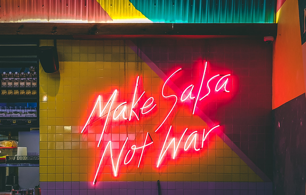 Victor Garcia - Make Salsa Not War