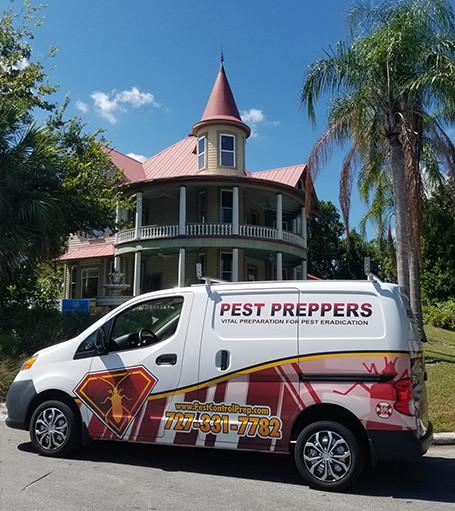 Pest Preppers Van