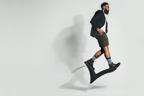 Man Steppin