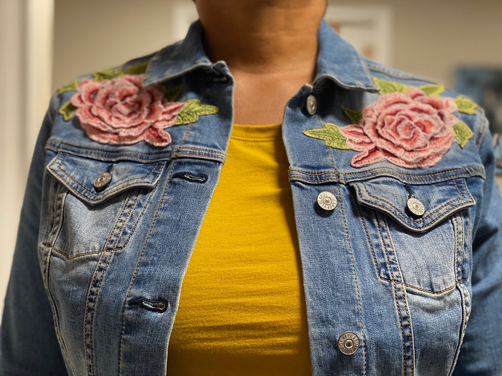 Woman's embroidery jacket