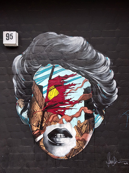 Artistic Woman's Face