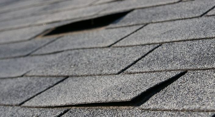A problem with tiles on a roof