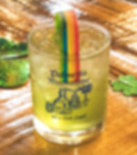 Rainbow Sour Drink