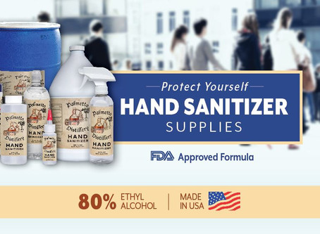 Hand Sanitizer And Whiskey?  What's Up?