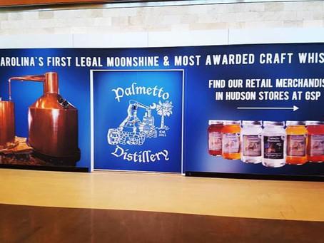 Palmetto Distillery Opens New Retail Location Inside Greenville-Spartanburg International Airport