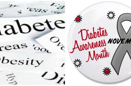 November Is American Diabetes Awareness Month