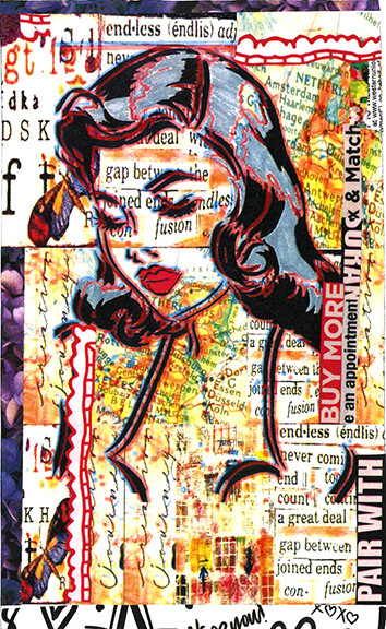 Collage of Woman