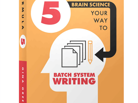 "Prolific Author Gina Greenlee & Amazon Co-Release, ""Formula 5: Brain Science Your Way..."""