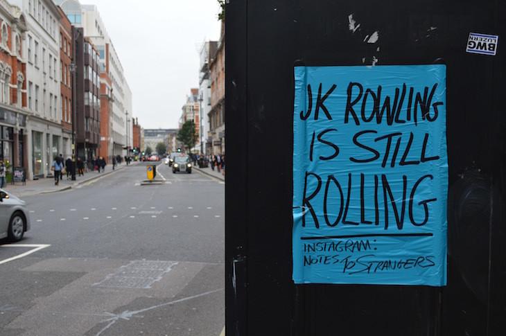 Quote hanging on door