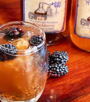 Blackberry Peach Tea