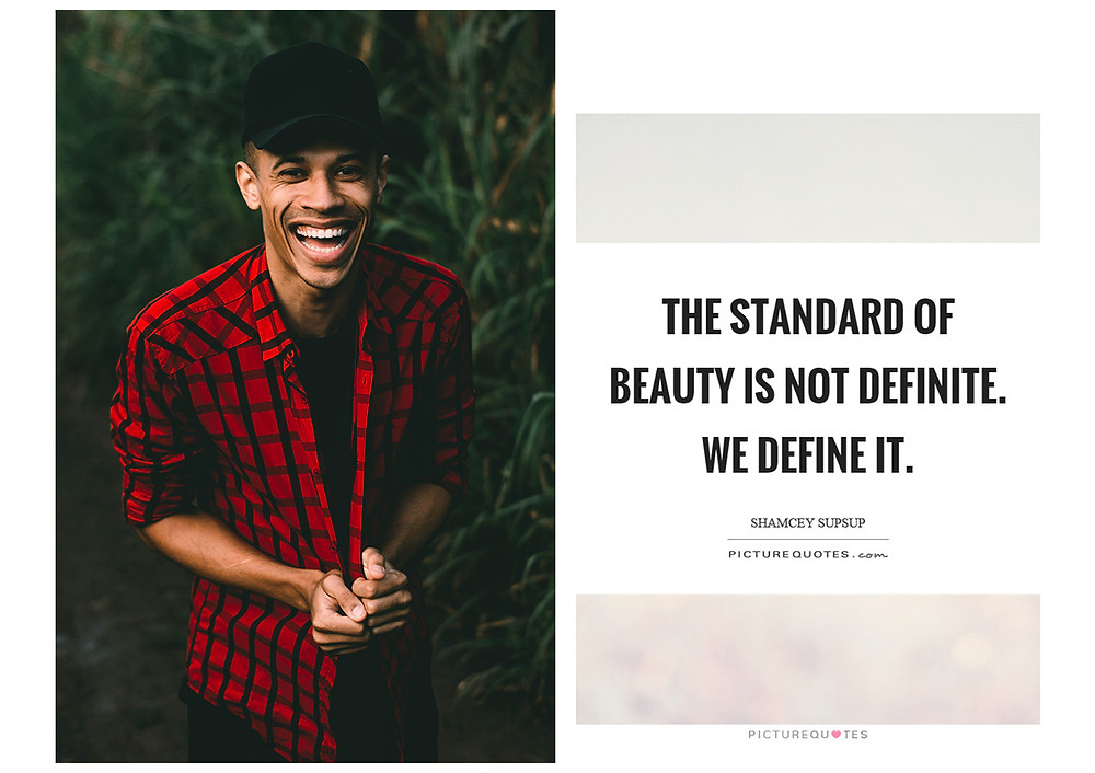 Handsome Black Man with Quote