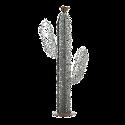 Large metal cactus ornament