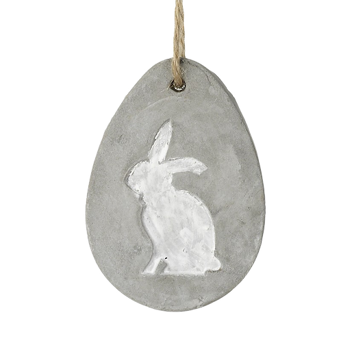 Cement Egg hanging decoration