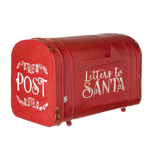 American style Christmas post box