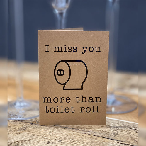 Toilet Roll Card