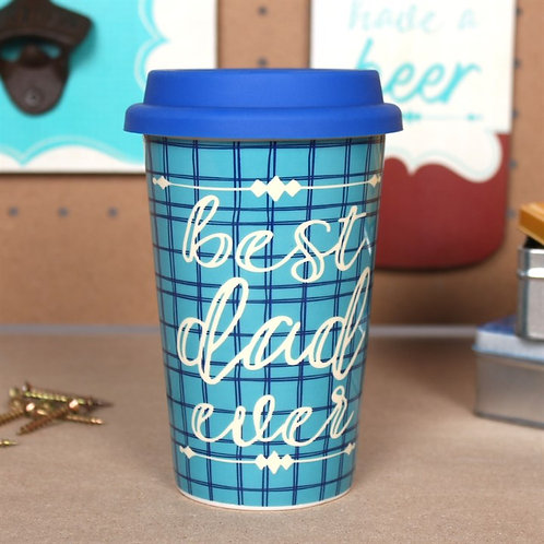 Dad ceramic travel mug