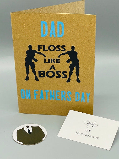 Fortnite Father's Day Card - Floss