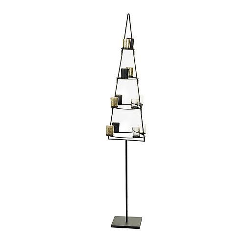 Large metal tea light Christmas Tree