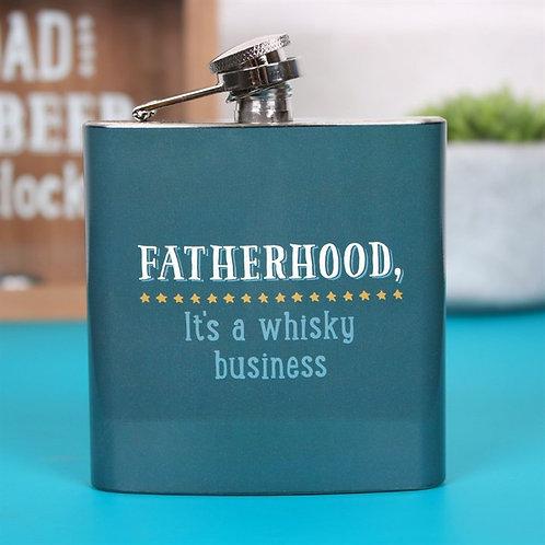 Fatherhood hip flask