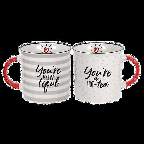 Brew-tiful couple mug set