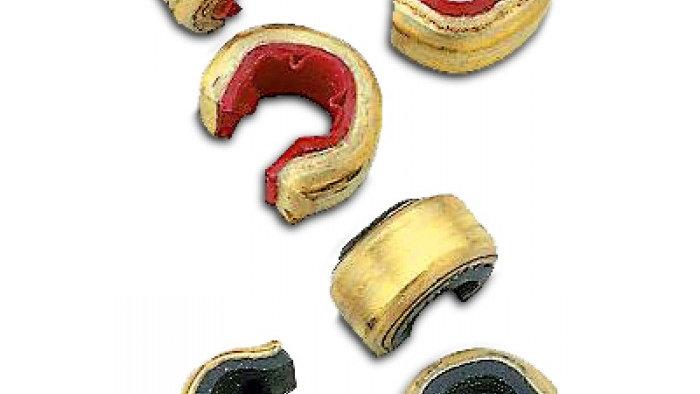 Brass Nock points - 6