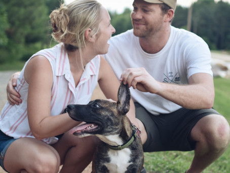 Couples Portraits - Whitewater Center with Erica and AJ
