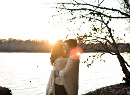Engagement Session on the Potomac