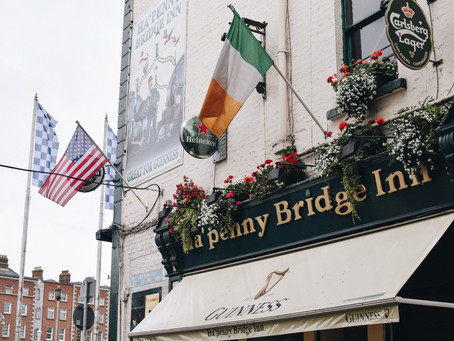 Ten Days in Europe - Dublin, Dingle, France, London
