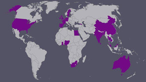Turning the globe purple!