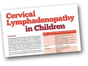 Cervical Lymphadenopathy in Children
