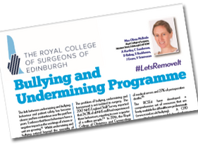 RCS Edinburgh Campaign: Bullying and Undermining Campaign.