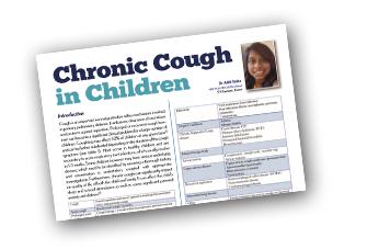 Chronic Cough in Children