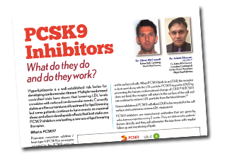 PCSK9 – Inhibitors what do they do and do they work?