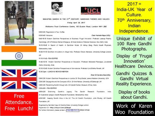 Gandhi Conference Slide