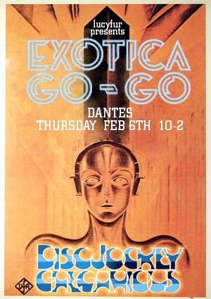 Dante's ExoticaGoGo 2003