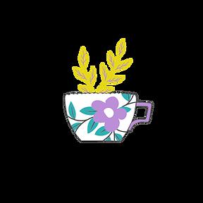 Modern Feminine Floral Illustrated Logo