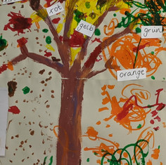 Our German colour tree