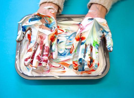 Make marbled paper