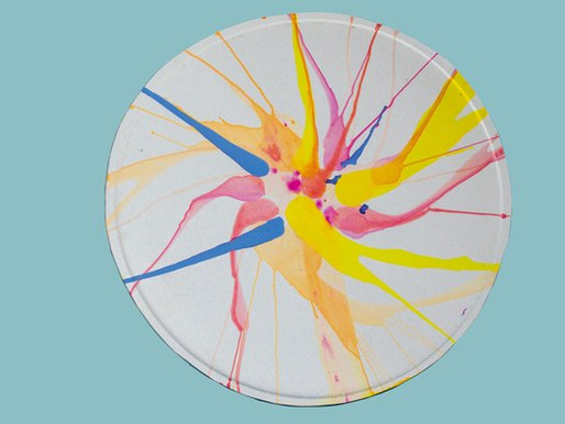 Make a spin painting