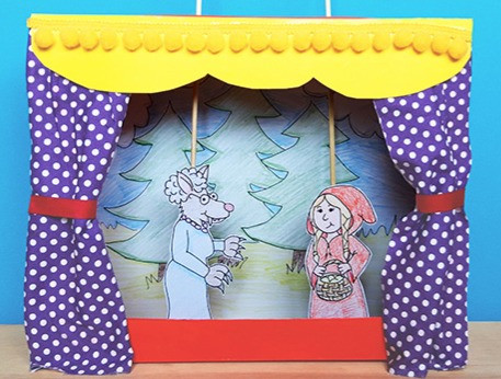 Make a puppet theatre