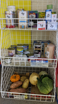 The Barn Supermarket is open between 9.00 am - 3.00 pm. All prices from 1p - 5p!