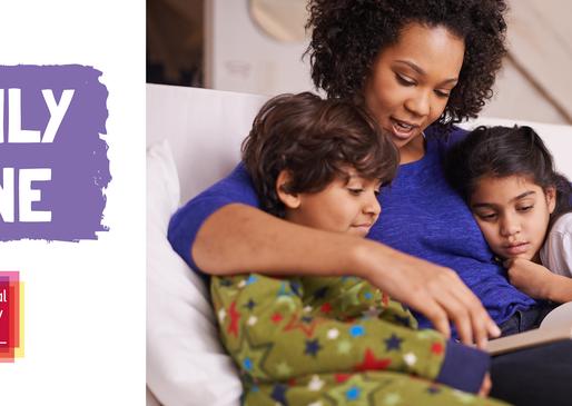 National Literacy Trust's Family Zone