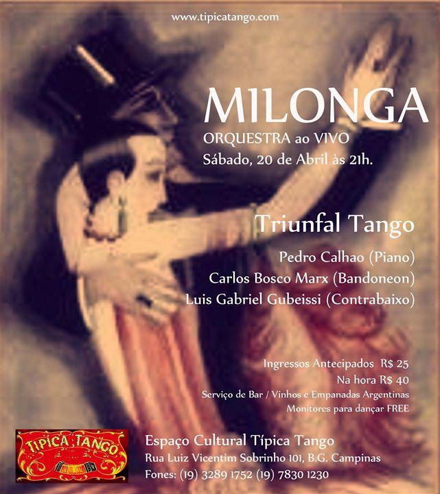 Milonga Típica Tango