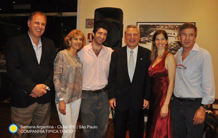 Cónsul Geral em São Paulo Agustín Molina Arambarri _Ipê Clube _ São Paulo _Companhia Típica Tango -