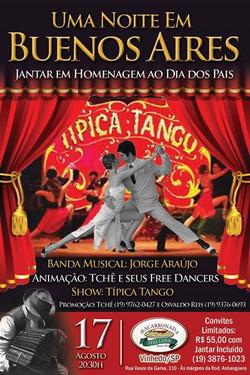 Espetáculo da Companhia Tipica Tango __HOMENAGEM AO DIA DOS PAIS - MACARRONADA ITALIANA (VINHEDO)