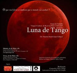 Grupo de Trabalho _ Tango & Cultura do Rio de La Plata _  Casa do Lago Unicamp - Dir