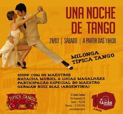 Espetáculo Uma noite de Tango