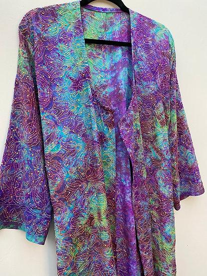 Midi Joy Robe - Psychedelic Purple