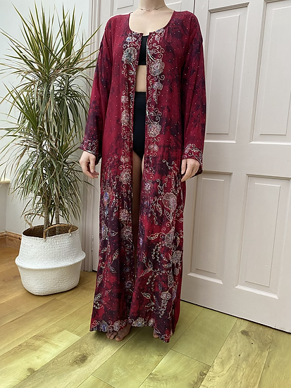 Maxi Joy Robe - Magenta Magic
