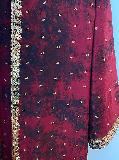 Maxi Joy Robe - Royal Gown